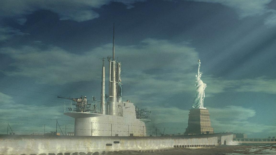 New York a potápění konvojů v Silent Hunter 4