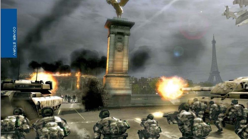 Scany z Tom Clancy's EndWar
