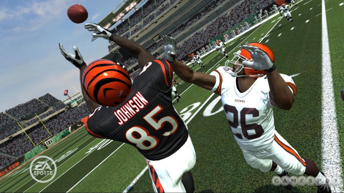 Opravdovější zápasy v next-gen Madden NFL 08