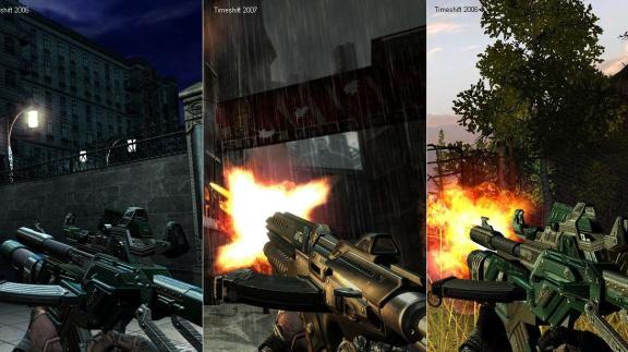 O evolučním multiplayeru v TimeShift