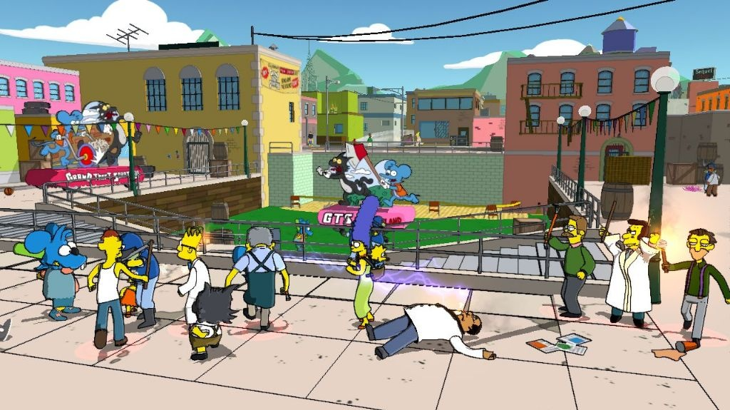 První ukázky z The Simpsons Game