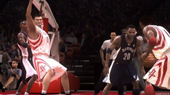 Vylepšený basket v NBA Live 08