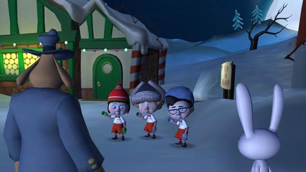 Psychopatický Santa Claus v Sam & Max 201