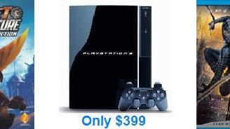 Termín levnější PS3 a přibalené tituly