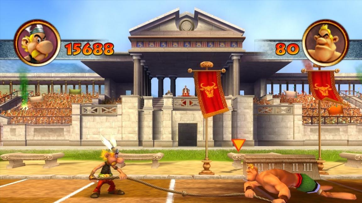 Asterix a Olympijské hry CZ recenze