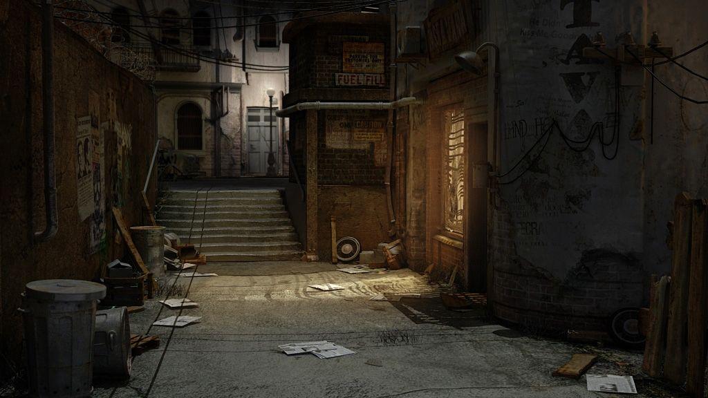 V zapadlých uličkách údajně strávite polovinu herního času.