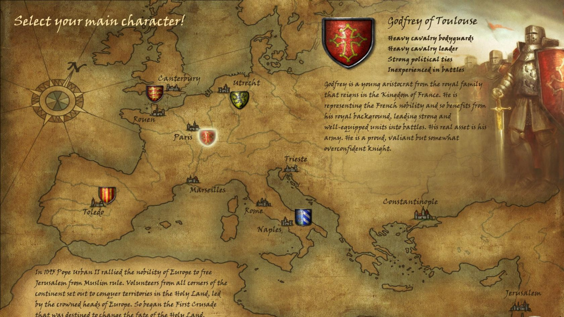 Crusaders: Thy Kingdom Come - recenze