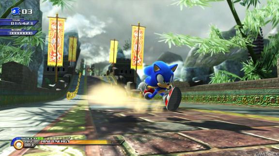 Sonic Unleashed - konečně pořádný 3D Sonic