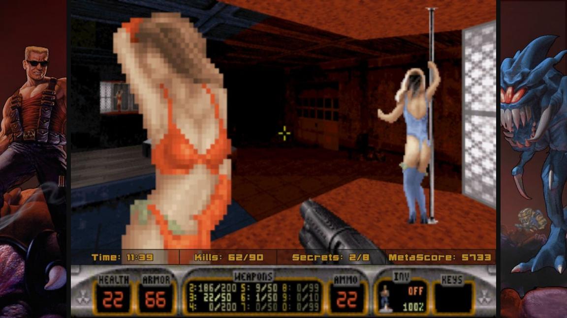 Nostalgický krvák WG Realms 2 - Duke jako Heretic a Doom