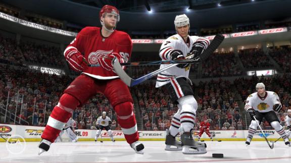 NHL 09 - mega-recenze