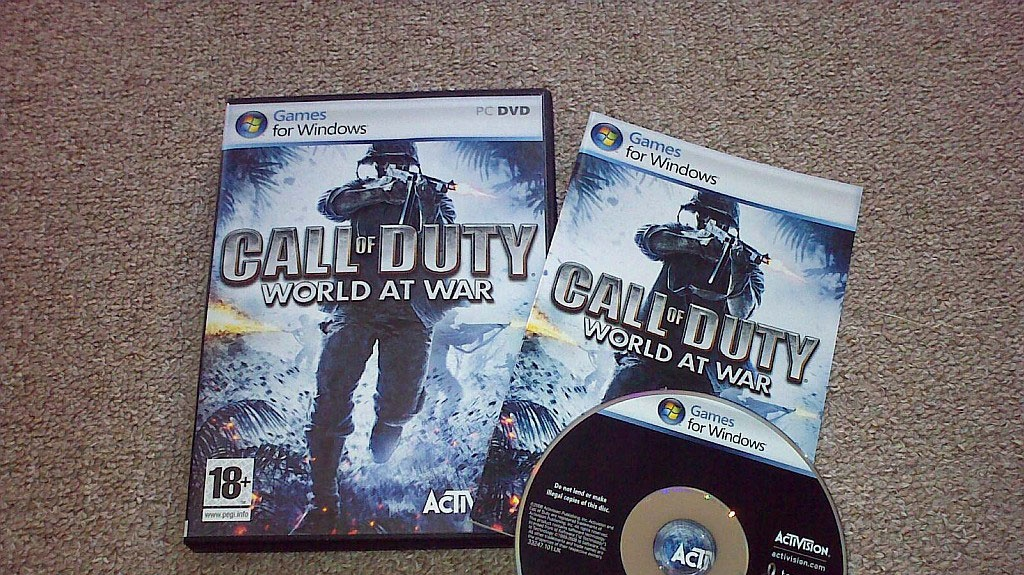 Call of Duty World at War - exkluzivní rec.