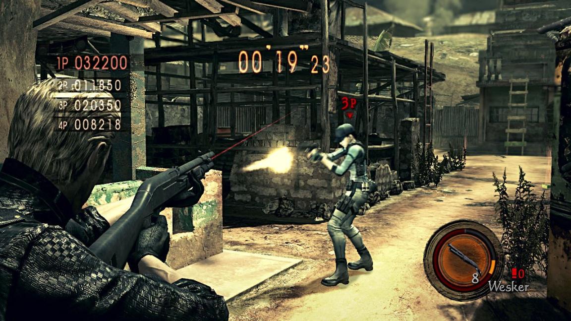 Resident Evil 5 - druhá strana mince