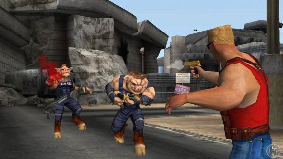 Duke Nukem Forever nakopl Duke Nukem hry pro handheldy