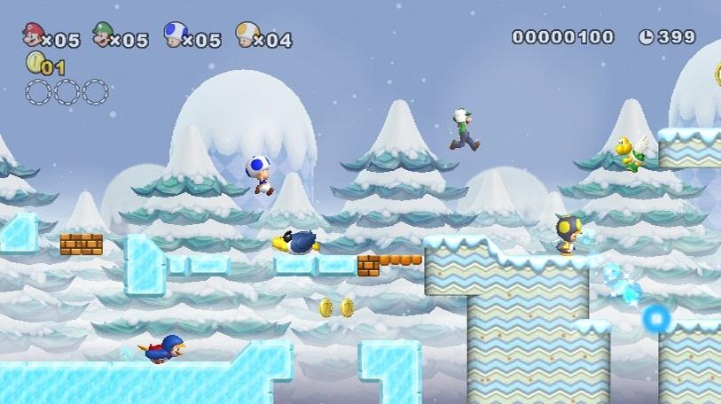 New Super Mario Bros. Wii - recenze