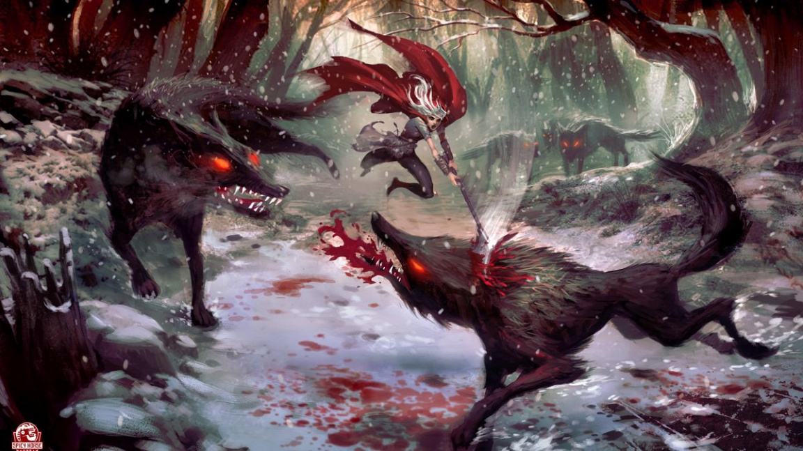 American McGee Little Red Riding Hood