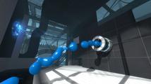 Modrý a oranžový z Portal 2