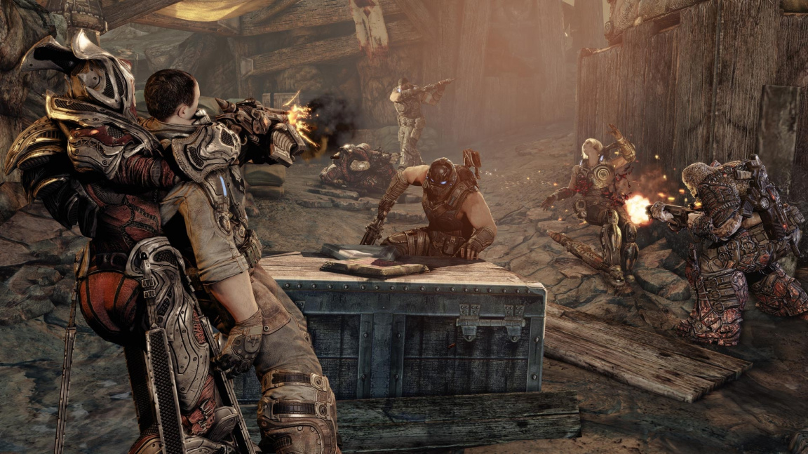 E3 preview Gears of War 3