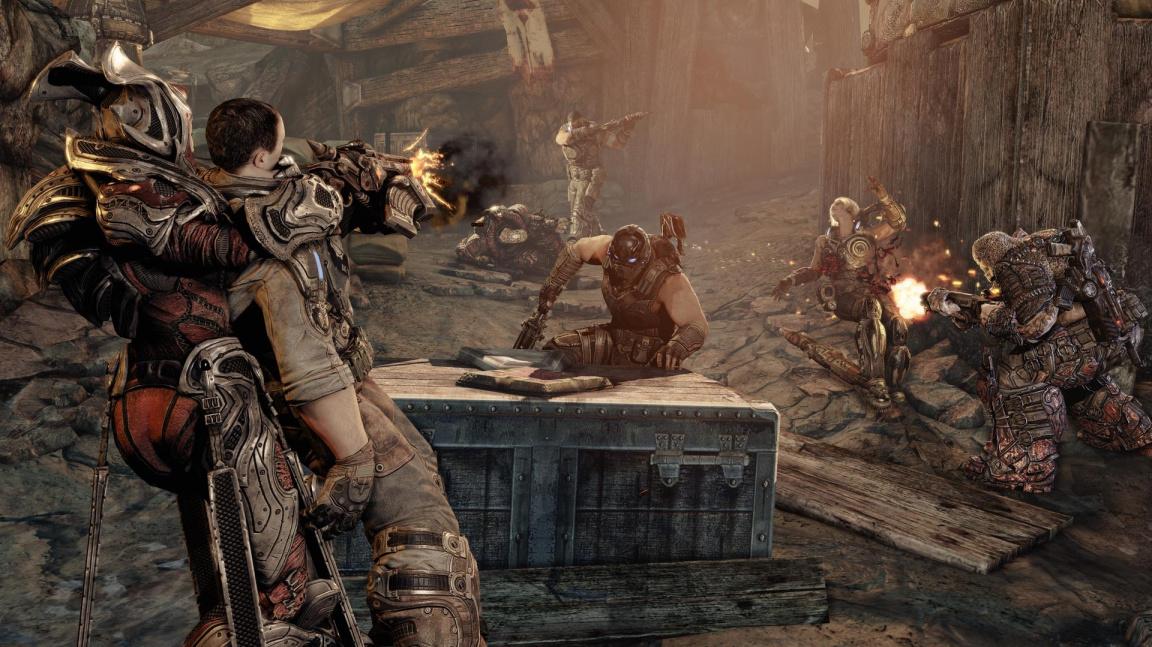 Depresivní intro z Gears of War 3 slaví dokončení hry