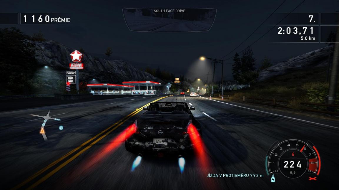 Smrtící jízda v Need for Speed: Hot Pursuit
