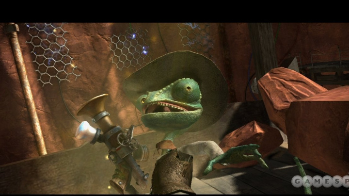 Rango, chameleon s hlasem Johnnyho Deppa