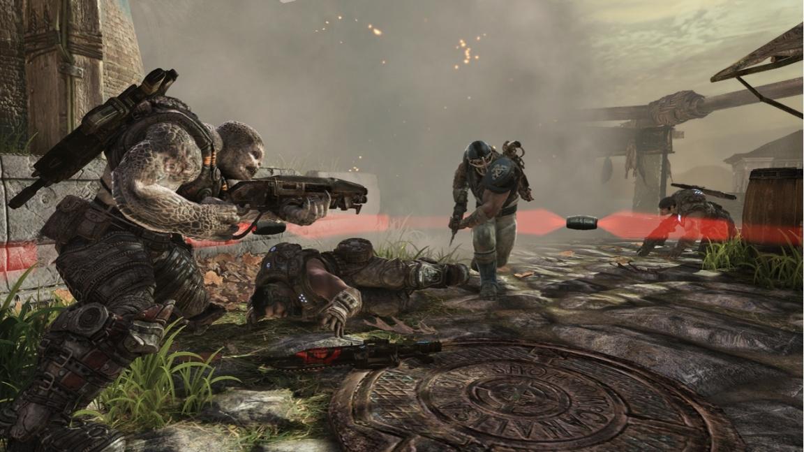 Co prozrazují obrázky a video z Gears of War 3 multiplayeru