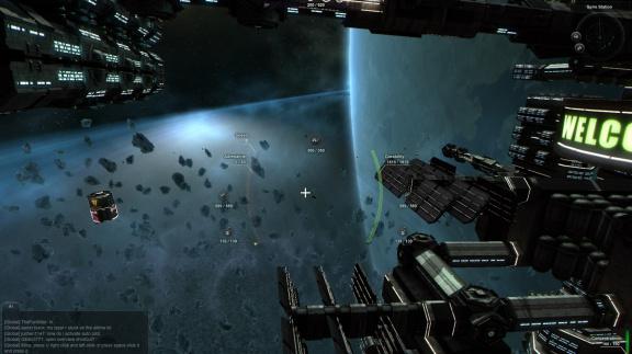 Vesmírné bitvy pro 300 hráčů v Black Prophecy