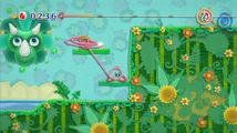 Kirby's Epic Yarn - recenze nápadité plošinovky