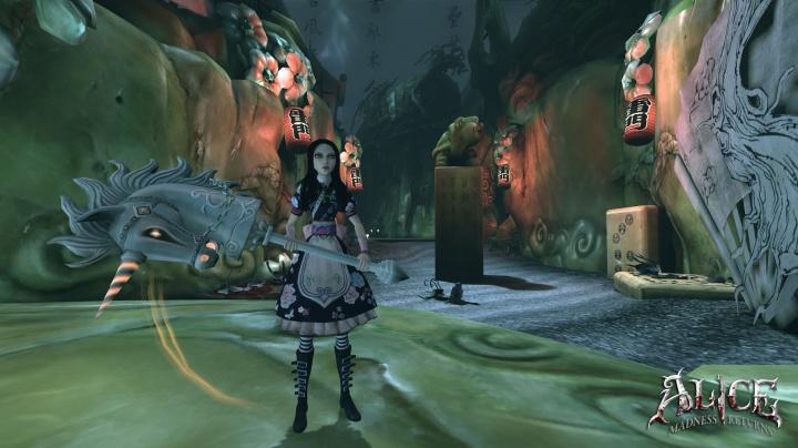 Návštěva zbořeného hradu z Alice: Madness Returns