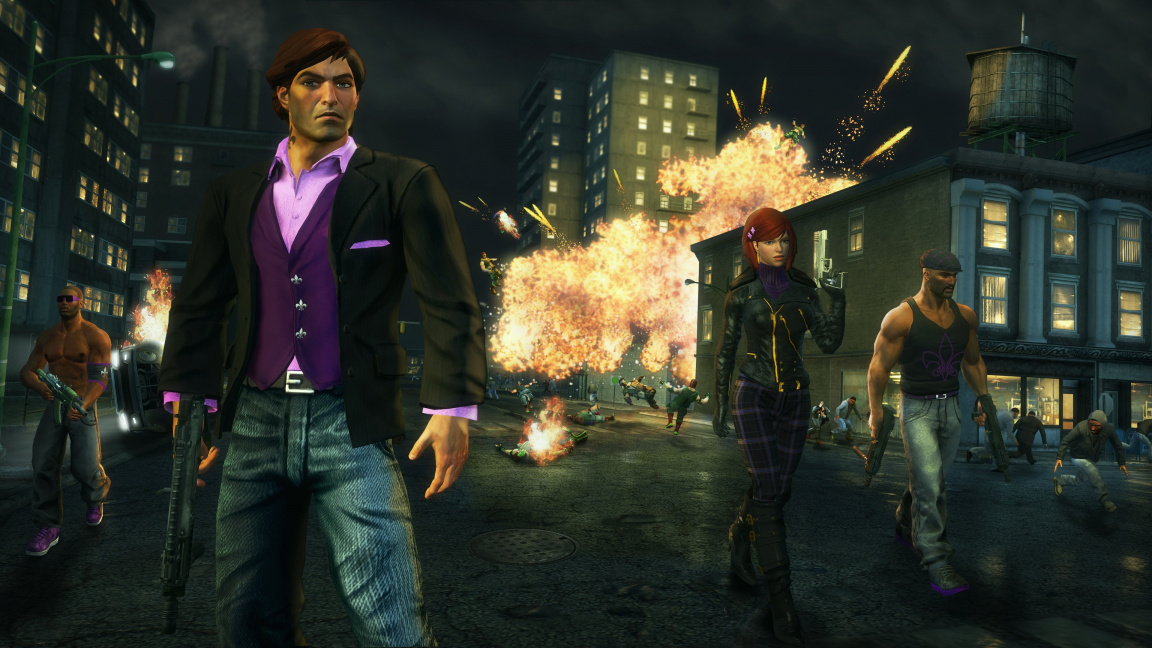 Gangstas ve vesmíru a v traileru na DLC k Saints Row: The Third