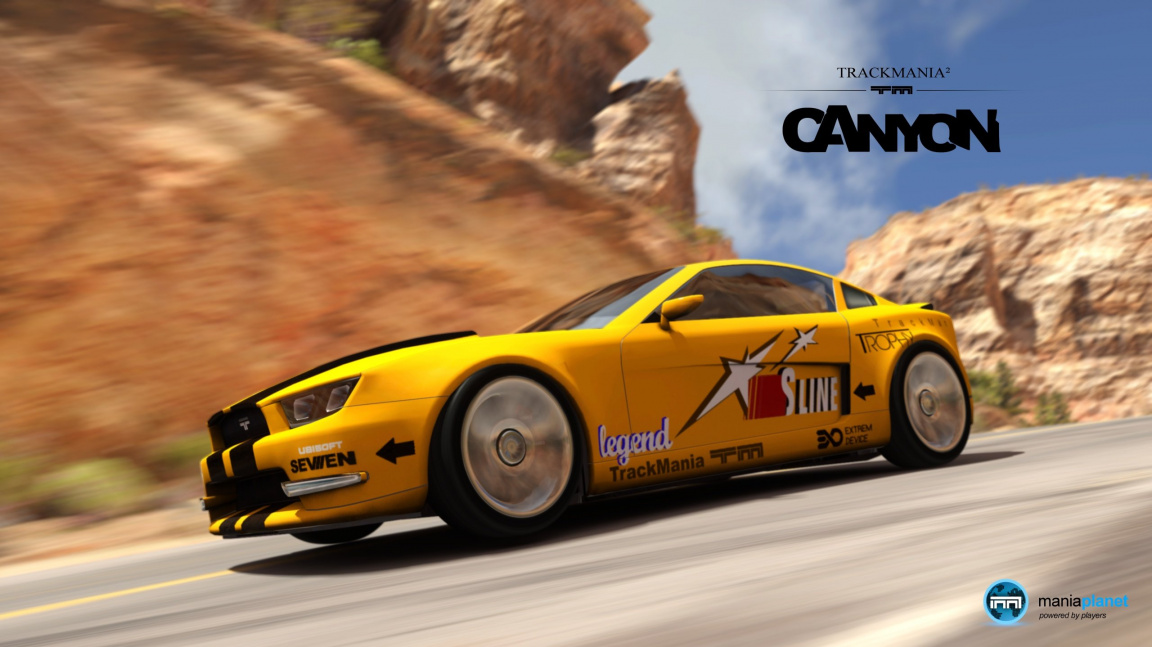 Vysoká rychlost v traileru na TrackMania 2: Canyon