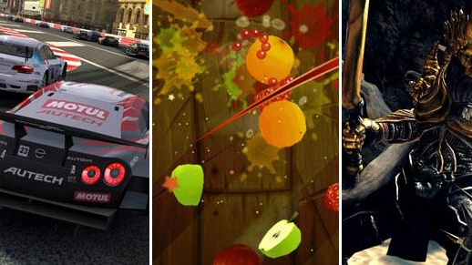 Best of iPad - Infinity Blade, Real Racing 2 HD, Fruit Ninja HD