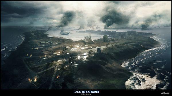 Představení mapy Wake Island z Battlefield 3 DLC