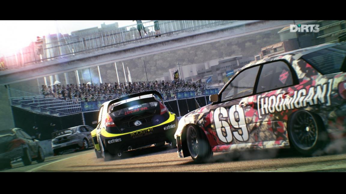 Zpomalená krása rallye závodů v DiRT 3