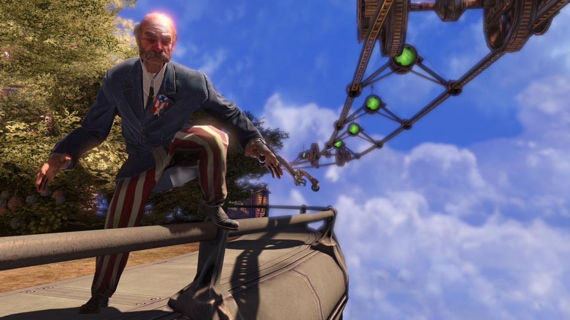 BioShock Infinite vypadal moc evropsky, musela přijít změna