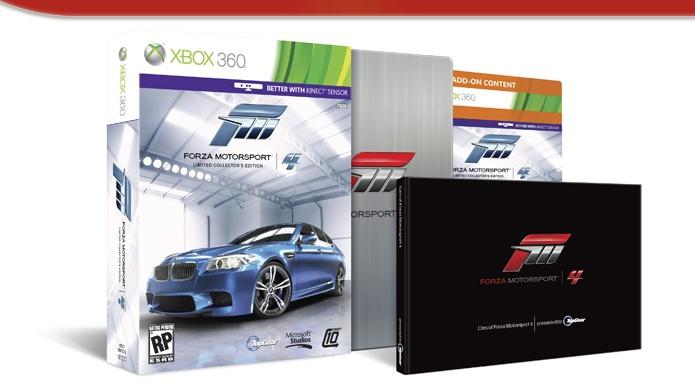 Sběratelská edice Forza Motosport 4