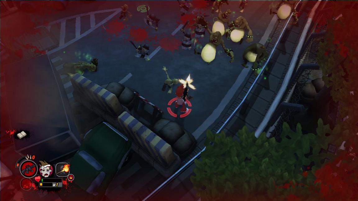 All Zombies Must Die! je komická řežba s roztomilými zombíky