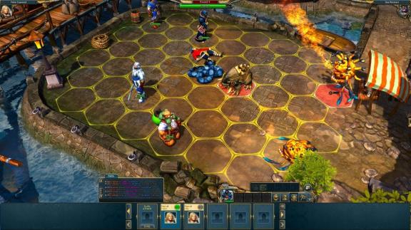 Začíná beta facebookové King's Bounty: Legions