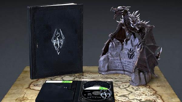 Sběratelská edice Skyrim se pyšní soškou draka