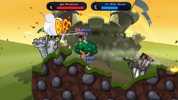 Worms Reloaded - recenze bláznivé strategie