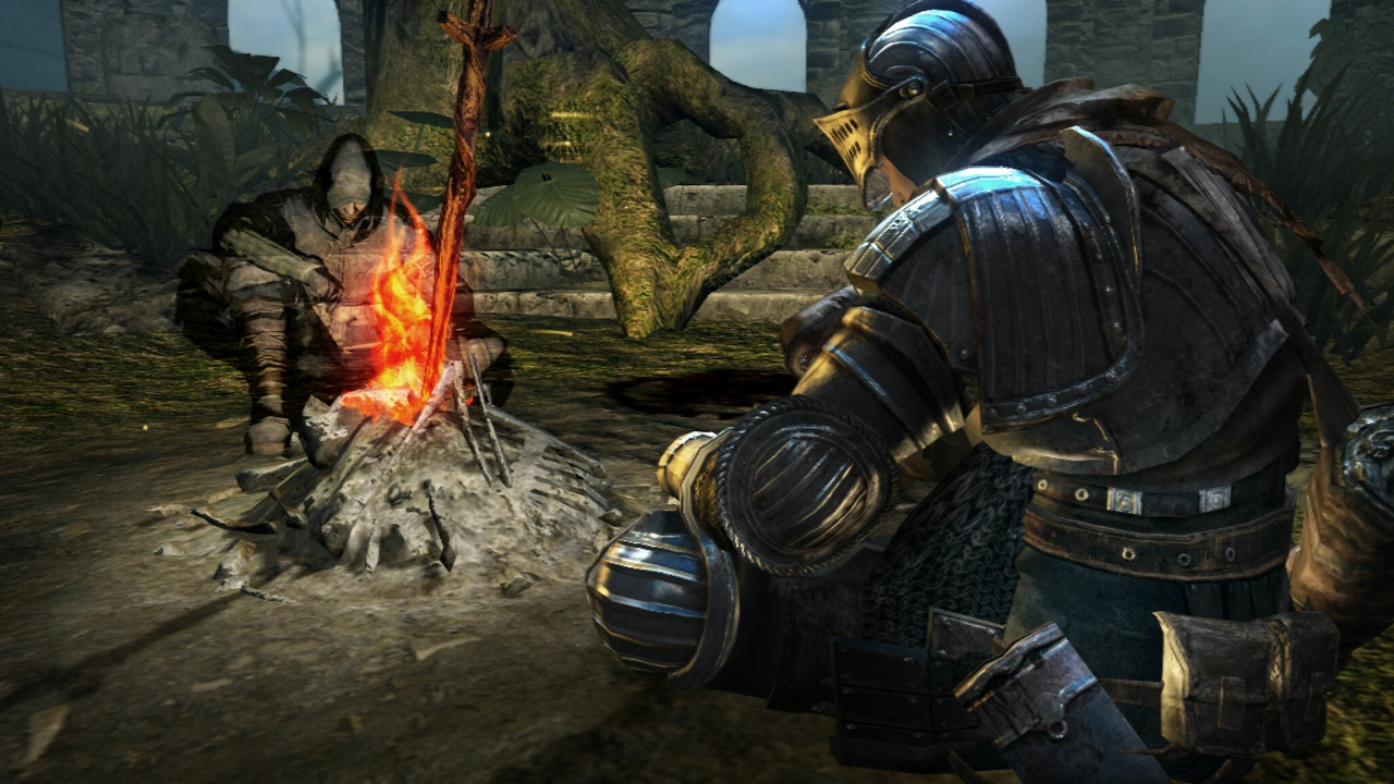 Vášnivý fanoušek postavil z Lega ikonickou Firelink Shrine z Dark Souls