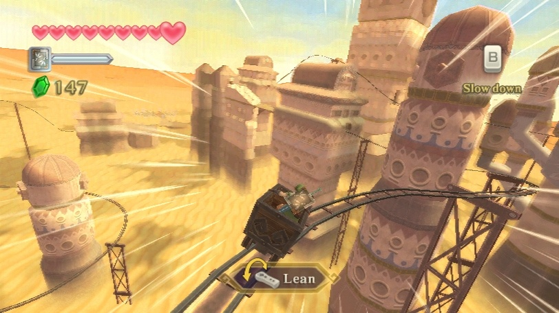 Jízda člunem pouští a tajemství Linkovy smrti z Legend of Zelda