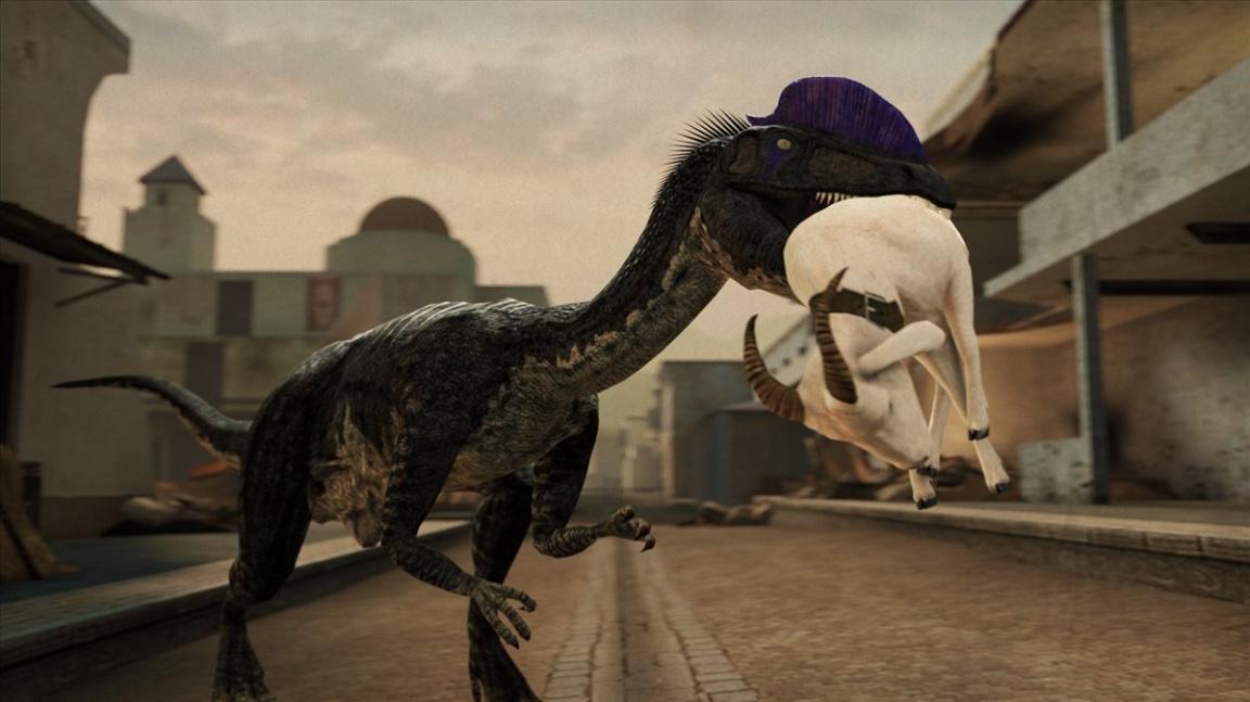 Odkrytí FPS Dino D-Day