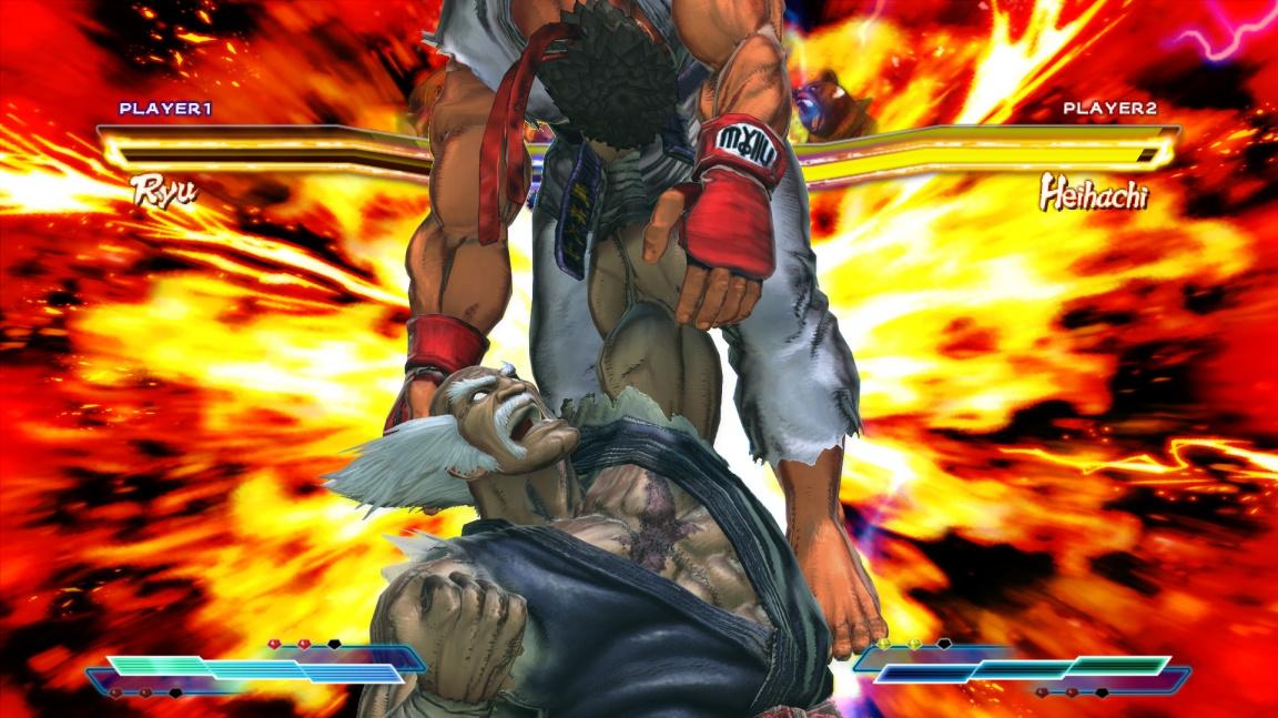 Ženské neshody v Street Fighter X Tekken