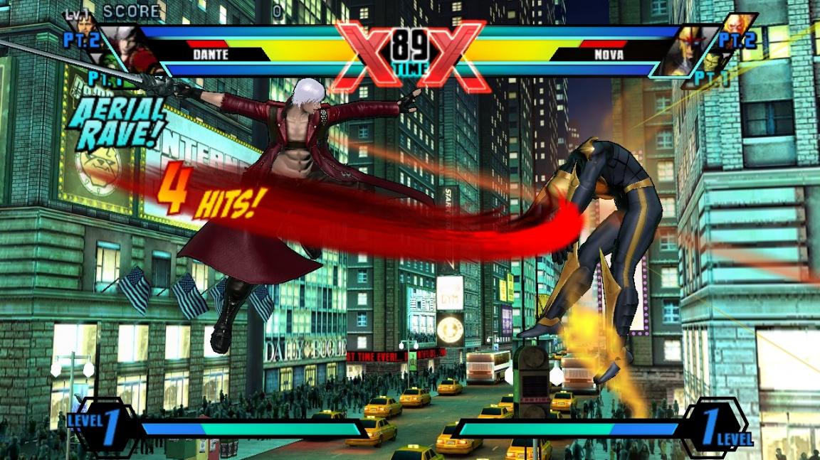 Ultimate Marvel vs. Capcom 3 (PSV) - recenze