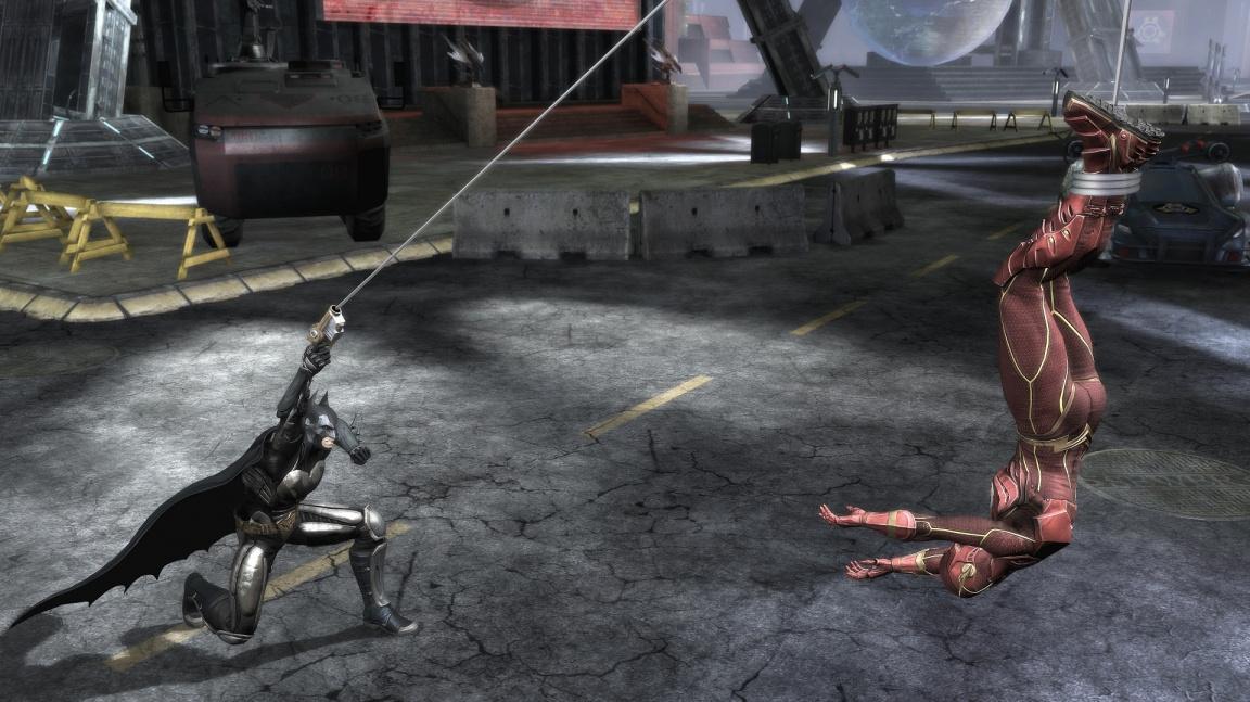 V DC bojovce Injustice se představuje zabiják Deathstroke