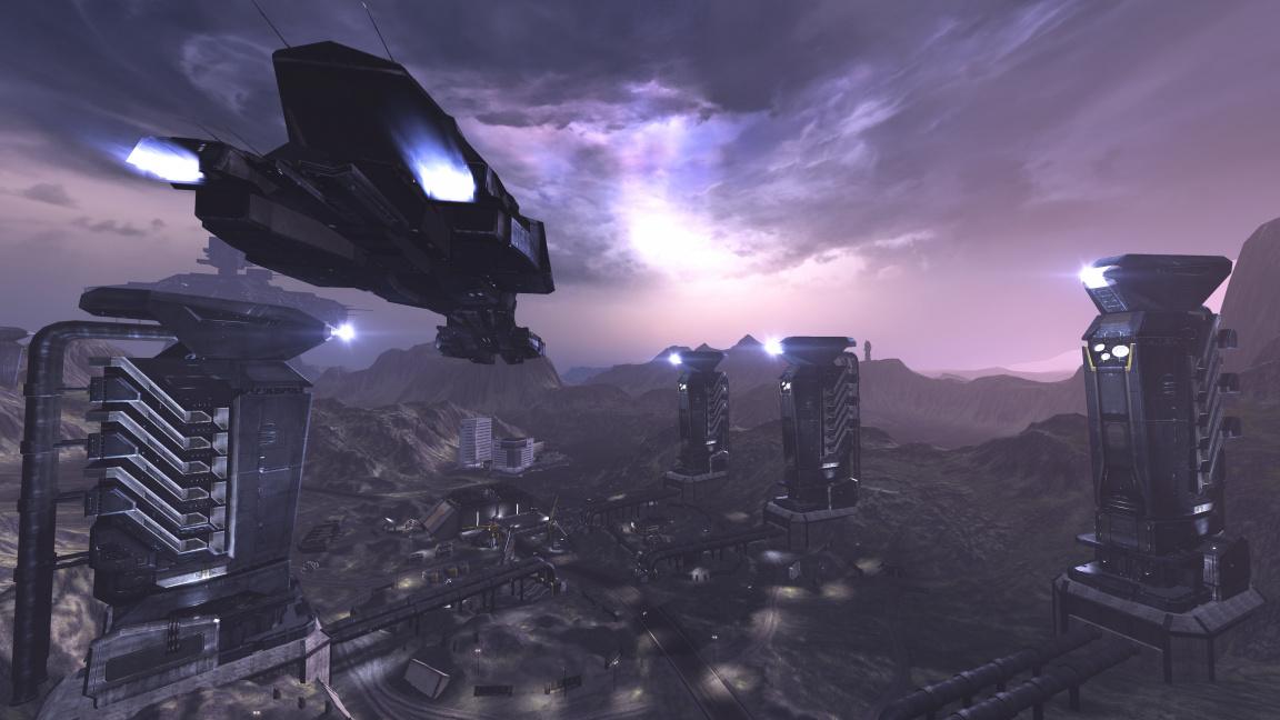 Záběry z hraní MMO střílečky Dust 514 pro PS3