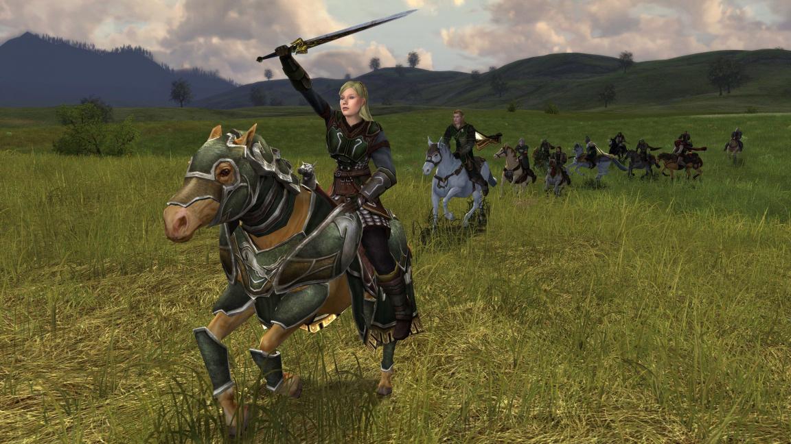Dokument o hudbě k LOTRO: Riders of Rohan