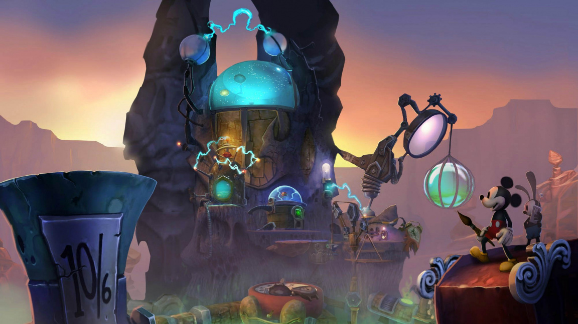 GC 2012 dojmy: kulhající kooperace v Epic Mickey 2