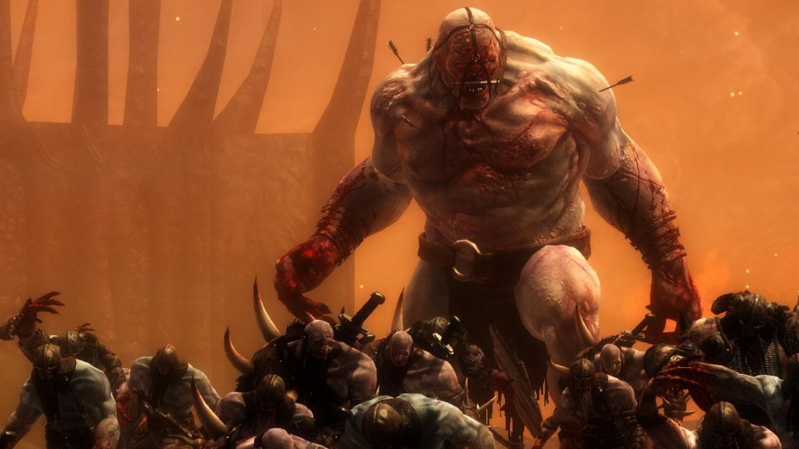Norský válečník Skarin z Viking: Battle for Asgard