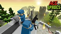 Sledujte rakeťáka z krychlové multiplayerovky Ace of Spades